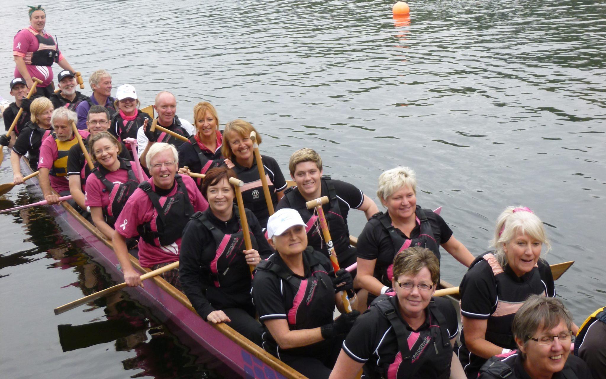 2014 Dragon Bay regatta crew.