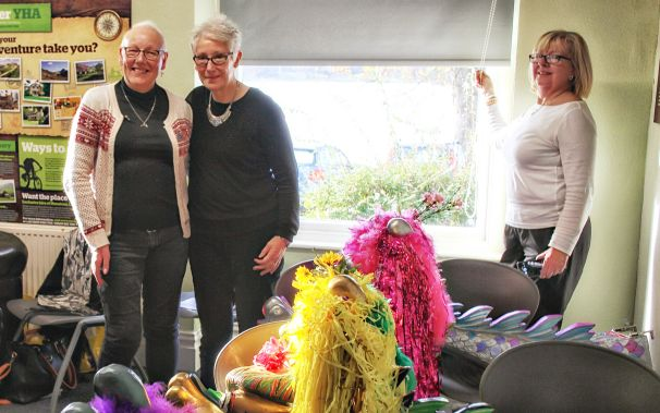 Sue and Louisa at the AGM