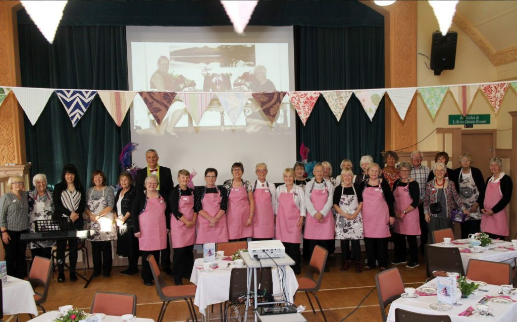 Ready to serve afternoon tea at the Silverdale Florence fundraiser.