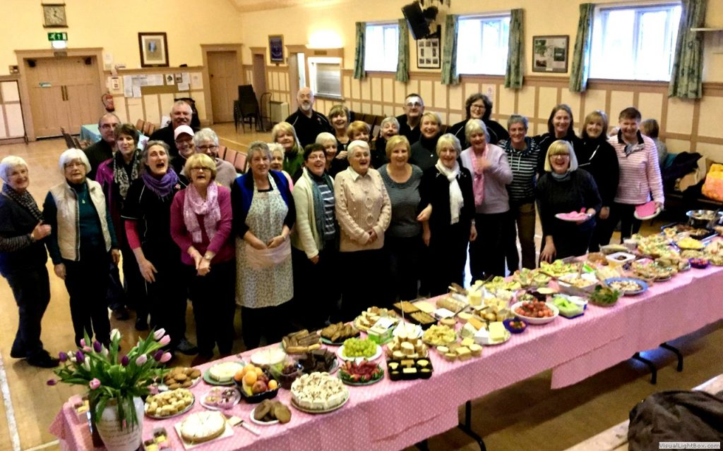 Silverdale Coffee morning fundraiser.