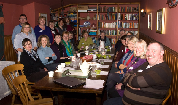Inaugural Meeting Paddlers-for-Life Scotland, a team on Loch Ken in Dumfries and Galloway.