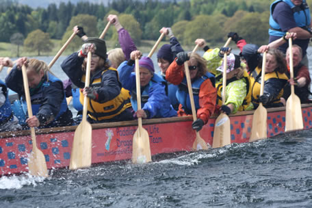 Paddlers for Life members have another great day paddling on Windermere.