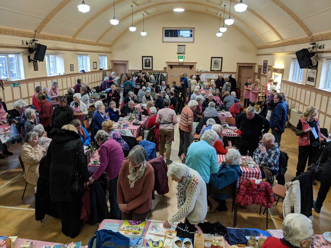 Members of Paddlers for Life Windermere and the stalwart supporters in Silverdale covered the stalls, raffle and tombola as well as serving refreshments.