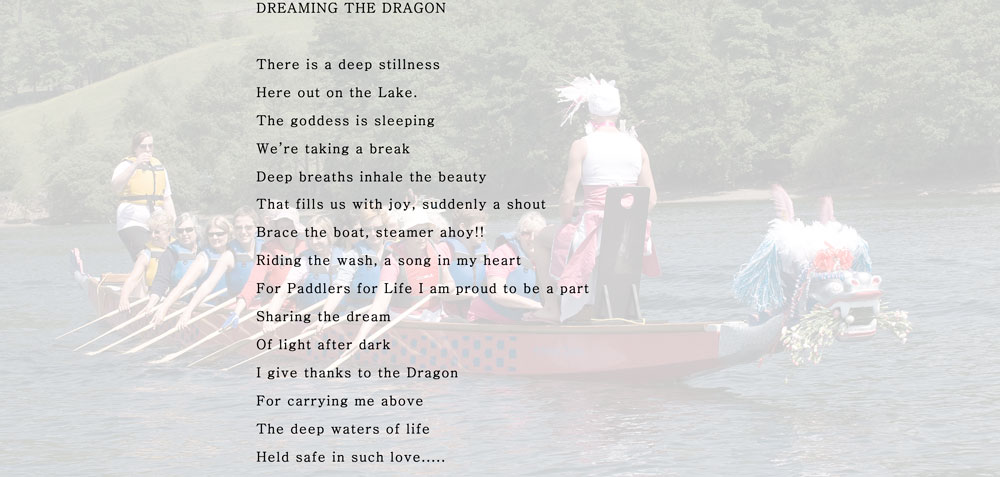 Dreaming the dragons poem.