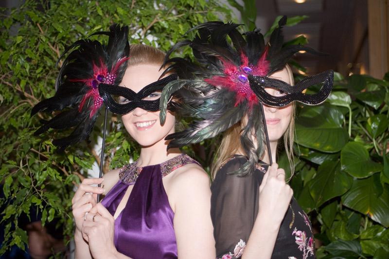 Masked Ball girls.