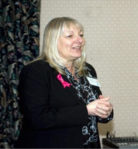 Sue Cogley, Chair of Paddlers for Life.