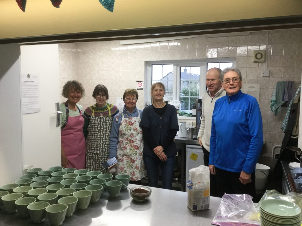 Thanks to Silverdale volunteers who worked tirelessly in the kitchen to provide refreshments.