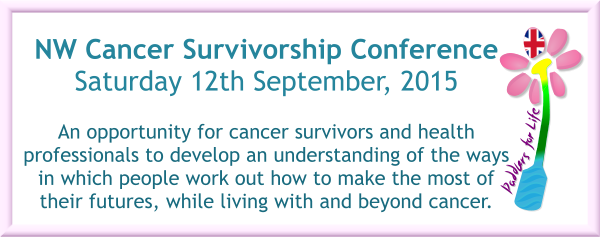 Paddlers for Life UK announce NW Cancer Survivorship Conference.