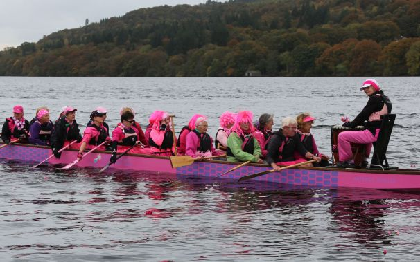 'Flowers on the Water' has become a traditional way to remember fellow paddlers'