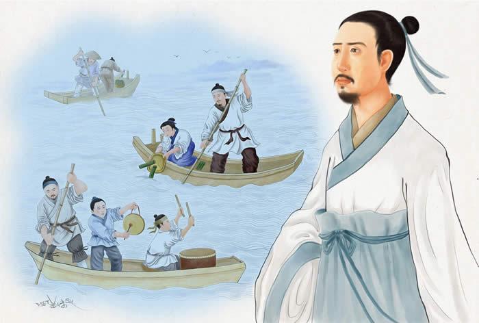 The poet QuYuan.