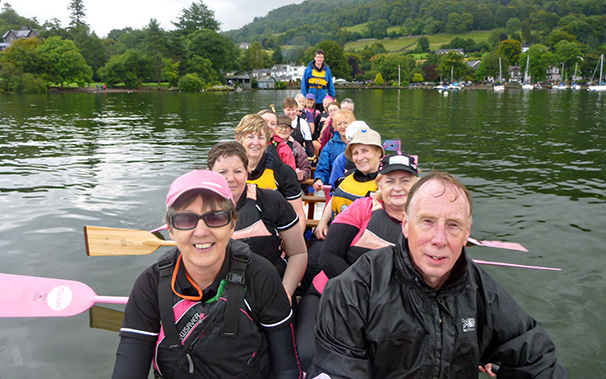 Ready for a long paddle around northern Windermere to Wray Castle and back across to Low Wood.