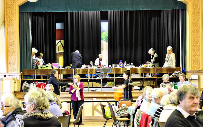 Mags organised the coffee morning that raised funds for Paddlers for Life.