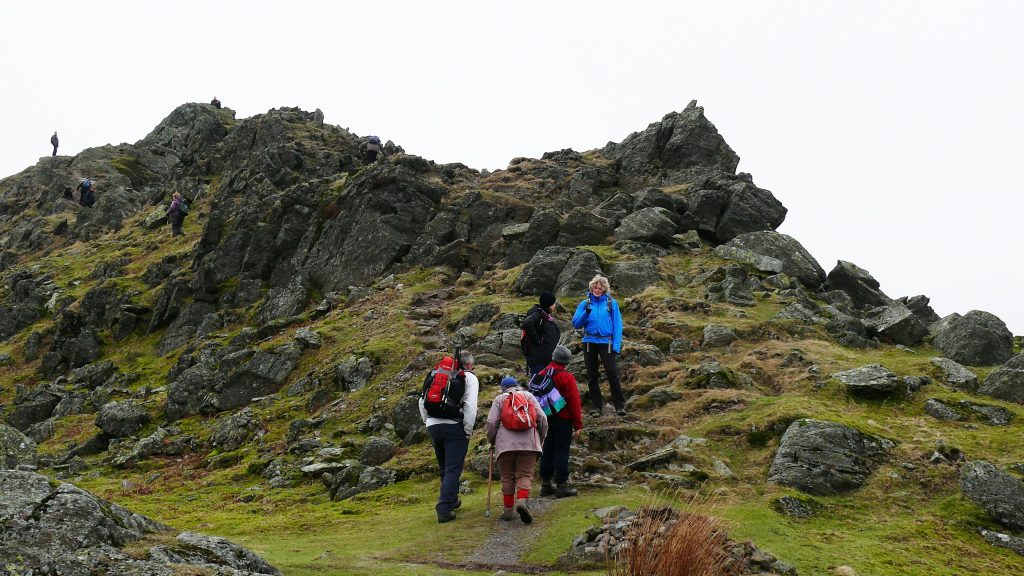 A winter fitness walk to Helm Crag.