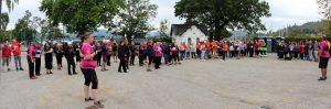 Participants in the First Dragon Bay Regatta.