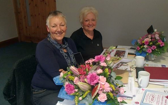 Thanks and best wishes to Sue and Ann.