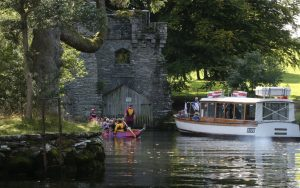 A lovely September day and a tour of northern Windermere to Wray Castle and back to Low Wood.