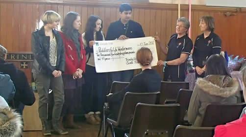 A fantastic £2518-77p. was raised.