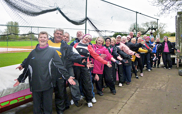 Paddlers from Windermere and Manchester visit Worcester Busters.