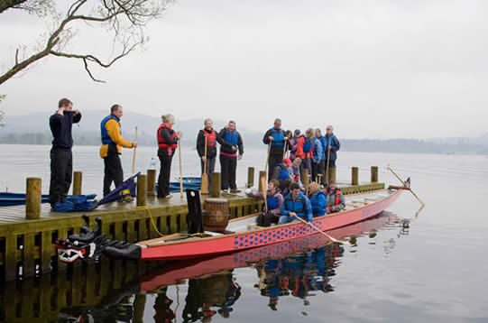 Early days on Windermere in 2008
