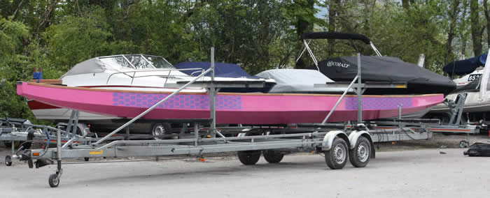 Paddlers for Life have taken delivery of their new boat.