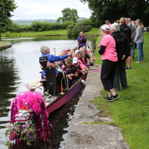 Arrival at Tewitfield at the northern end of the Lancaster Canal.