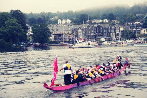 The final 500 metres into Bowness-on-Windermere.