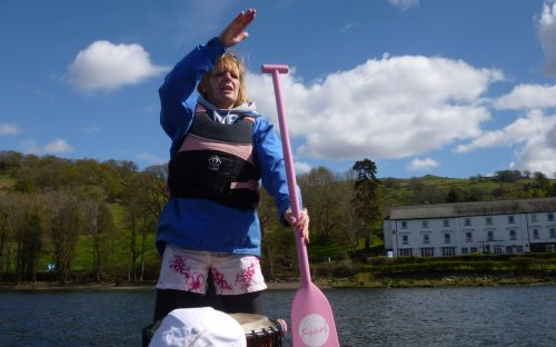 Keni has much paddling experience and has the knack of refining everyones' skills. 2015