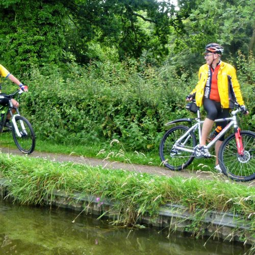Support team is there to warn other canal users and in the event land based support is needed.
