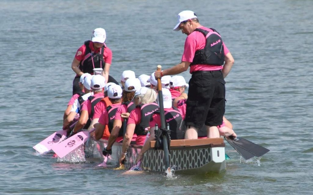 Training on the Arno River in Florence.