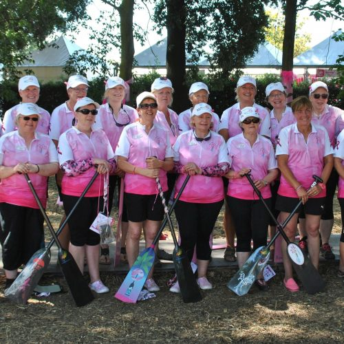 Enthusiastic paddlers from Worcester Busters and Paddlers for Life Windermere.