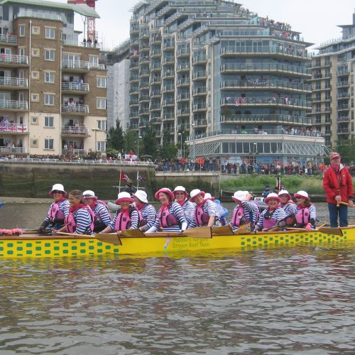 The IBCPC crew had breast cancer paddlers from all the countries that have member teams in this international organisation.