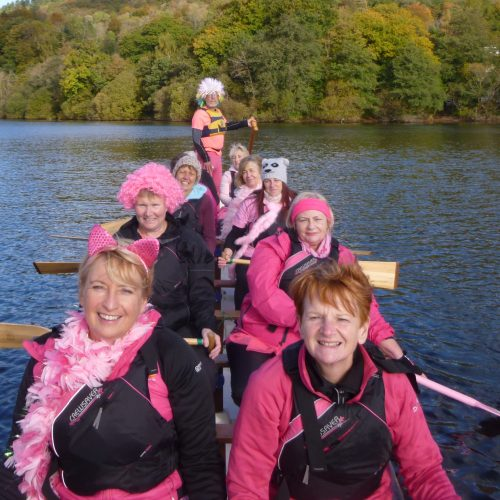 Paddle in Pink Team 2016.