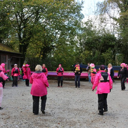 Pink Paddle warm up 2016.