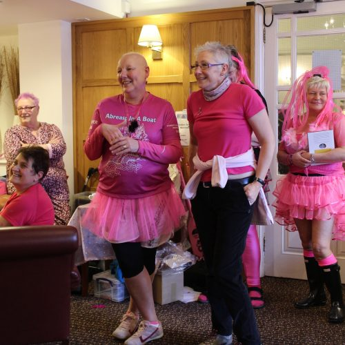 The weather may have stopped our Paddle in Pink but the celebrations continue in 2013.